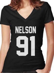 Jesy Nelson Women's Fitted V-Neck T-Shirt