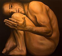 Breaking the Bonds, acrylic on canvas by Thomas Acevedo