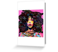 Miss Erykah Badu Greeting Card