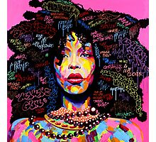 Miss Erykah Badu Photographic Print