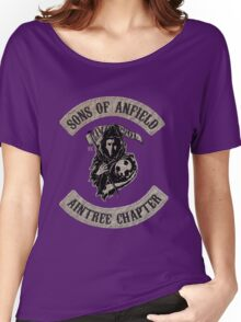 Sons of Anfield - Aintree Chapter Women's Relaxed Fit T-Shirt