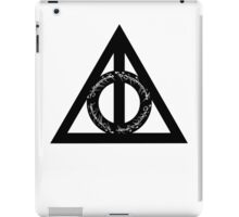 Lord of the Hallows - Black iPad Case/Skin