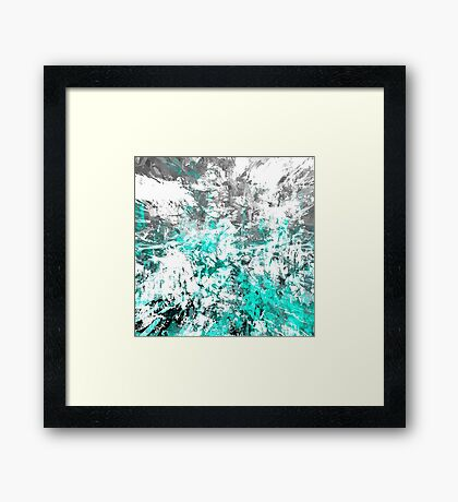 abstract  w/t Framed Print