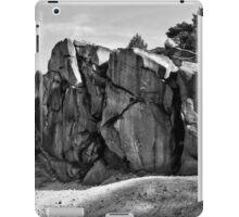 Black Rocks Derbyshire iPad Case/Skin