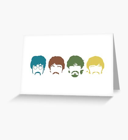 the beatles t shirts Greeting Card