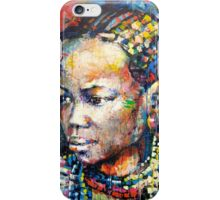 She is beauty iPhone Case/Skin