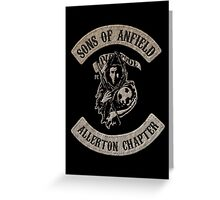 Sons of Anfield - Allerton Chapter Greeting Card