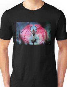 Robot Angel Painting 018 Unisex T-Shirt