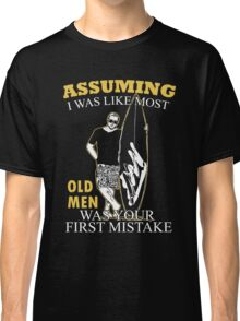 $filenam - Gift For Dad - I Was Like Most Old Man $filenam And Friend Classic T-Shirt