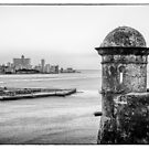 Entrance to Havana Harbor, Cuba by Robert Kelch, M.D.