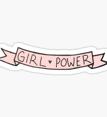 Girl Power  Sticker