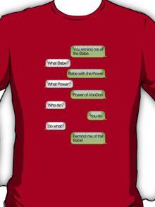 Labyrinth -  Texting Convo T-Shirt