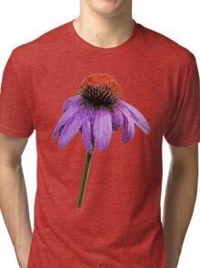 Purple Daisy Tri-blend T-Shirt