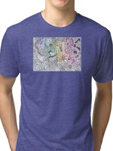 Gradient Collaboration Tri-blend T-Shirt