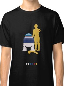 Androids (White Background) Classic T-Shirt