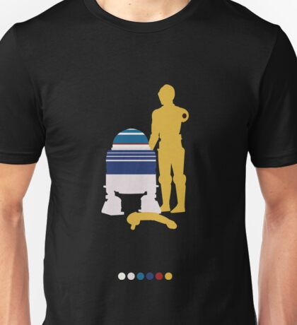 Androids (White Background) Unisex T-Shirt
