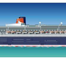 Hi-detailed cruise ship Sticker