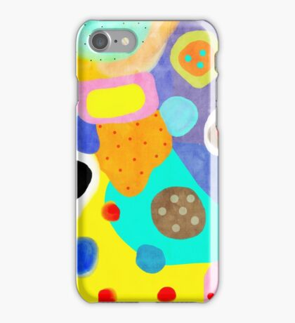 Abstract Unusual weird but wonderful colours iPhone Case/Skin