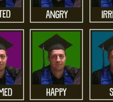 Moods of Denis Sticker