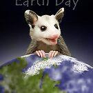 Earth Day Opossum by jkartlife