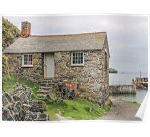 Fishermans cottage - mullion  Poster