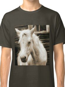willow pencil sketch Classic T-Shirt