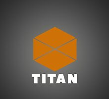 Destiny Game - Titan Symbol with Gradient by CraftyCreepers