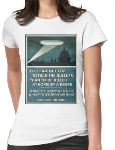 Vintage poster - Join the Army Womens Fitted T-Shirt