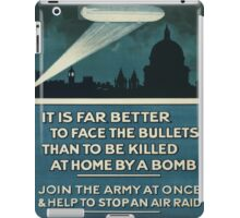 Vintage poster - Join the Army iPad Case/Skin