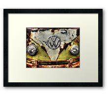 VW Campervan Framed Print
