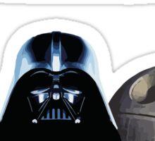 Darth Vader quote design Sticker