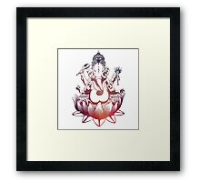 Ganesh Indian God Framed Print