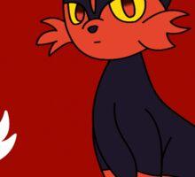Team Litten! - Pokemon Sun and Moon Sticker