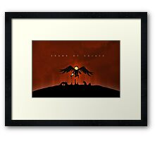 Spawn of Solace Framed Print