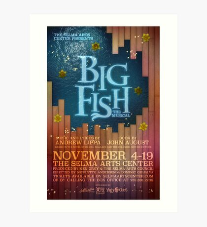 Big Fish the Musical Art Print