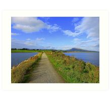 The Path Of Peace.........................................Ireland Art Print