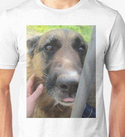 Cute German Sheperd dog 1 Unisex T-Shirt
