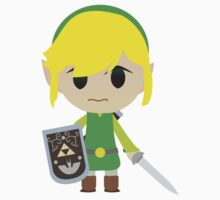 Chibi Toon Link One Piece - Short Sleeve