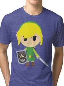 Chibi Toon Link Tri-blend T-Shirt