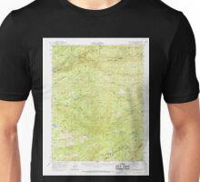 USGS TOPO Map California CA Blue Mountain 296852 1956 62500 geo Unisex T-Shirt