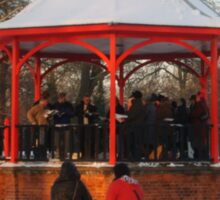 12 carols in the bandstand Sticker