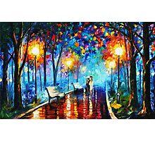 """Illuminated Forest Path"" Photographic Print"