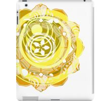 Rainbow Mandala (Yellow) iPad Case/Skin