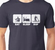 EAT SLEEP SUP | Cool Stand-up Paddleboard T Shirts & Hoodies Unisex T-Shirt
