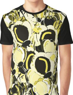 Yellow abstract garden Graphic T-Shirt