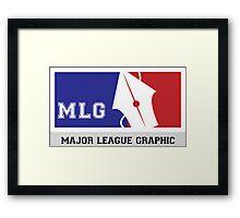 MLG:Major League Graphic Framed Print