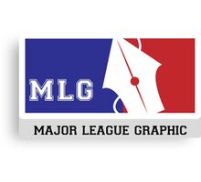 MLG:Major League Graphic Canvas Print
