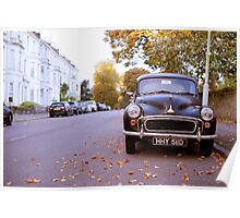 Morris Minor (The 50's,60's) Poster