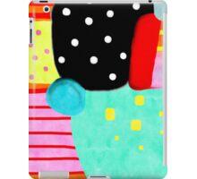 Polka Dots Abstract Happy Art iPad Case/Skin