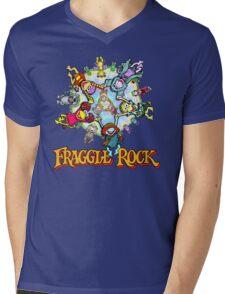 Fraggle Rock Mens V-Neck T-Shirt